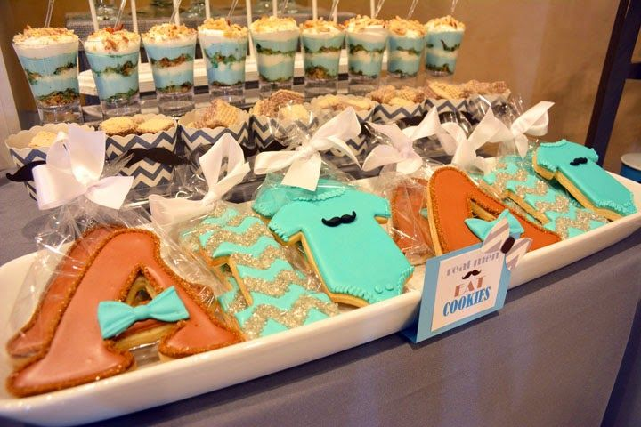 Rachel J Special Events: Mustache Style 1st Birthday Party