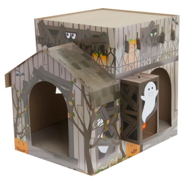 Target Has A Haunted House For Cats People Are Freaking Out
