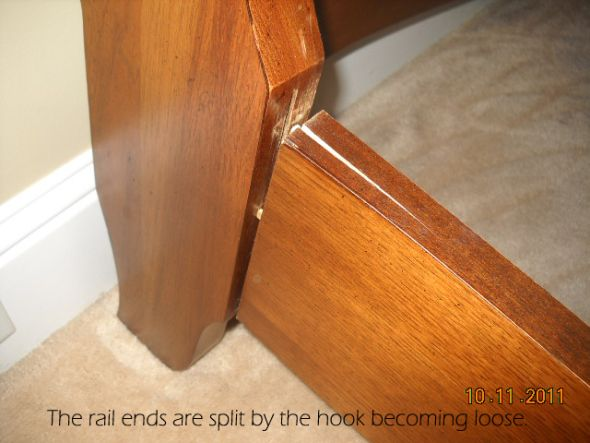 Thomasville Bed Rail Repair Bed Rails Thomasville Home Maintenance