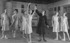 Vaganova method ballet training