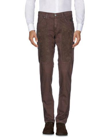 JECKERSON Men's Casual pants Dark brown 30 jeans