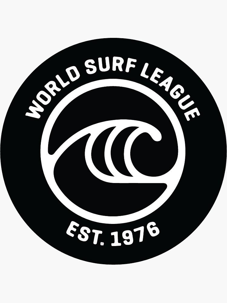 'WSL' Sticker by AJPR0 in 2020 | Surf logo, Surfing quotes ...