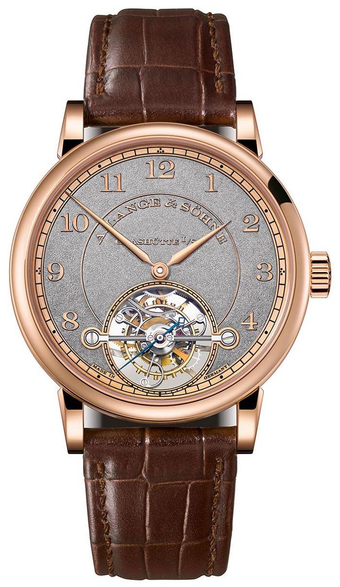 A. Lange & Sohne 1815 Tourbillon Handwerkskunst - Юбилейное издание турбийона | Luxurious Watches