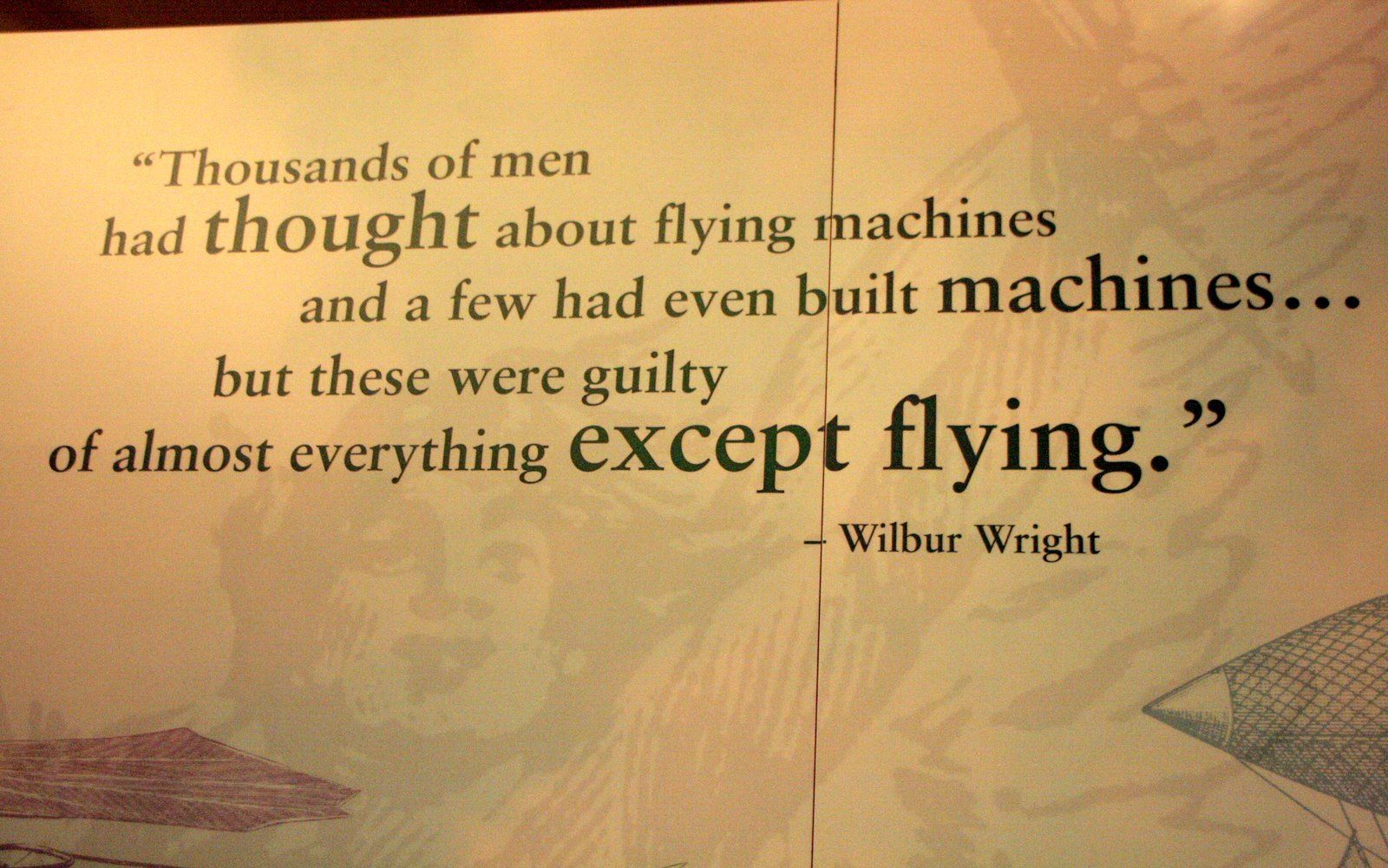 The Wright Brothers Quotes Jul4%2B024 1600×1001  · N❤️tes T❤ Myself ·  Pinterest