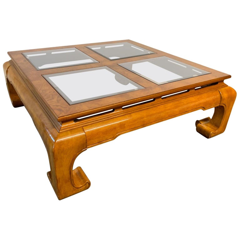 Ming Asian Chinoiserie Coffee Table In 2020 Coffee Tables For