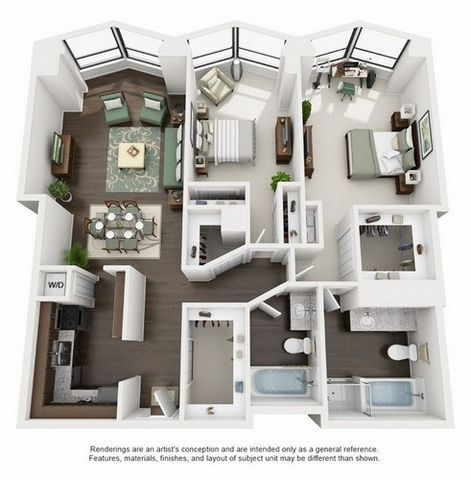 Floor Plans North Harbor Tower