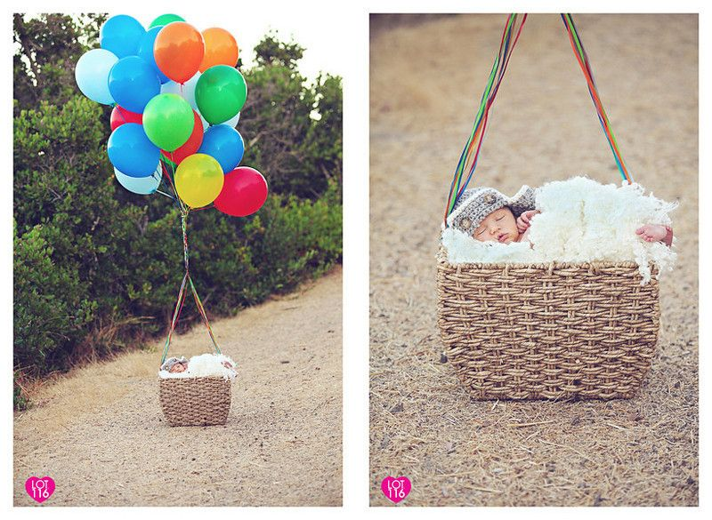 Adventure is out there! Up inspired newborn shoot - Lot116 Photography