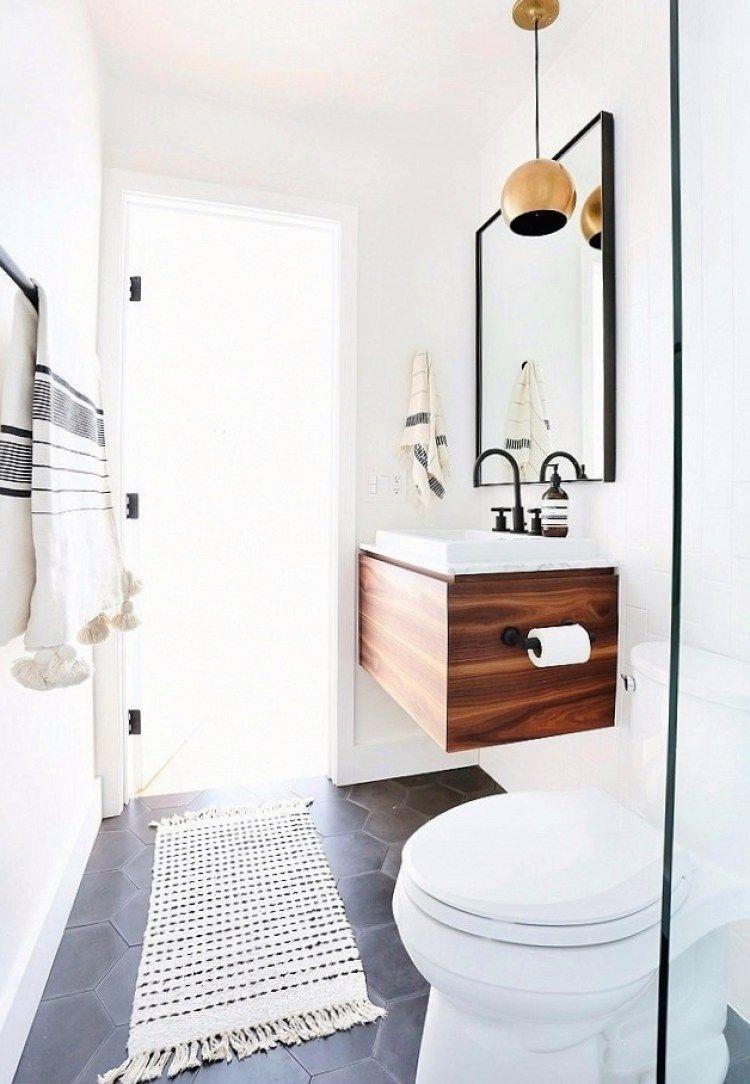 Mini Bathroom Makeover | Slate flooring, Slate and Towels
