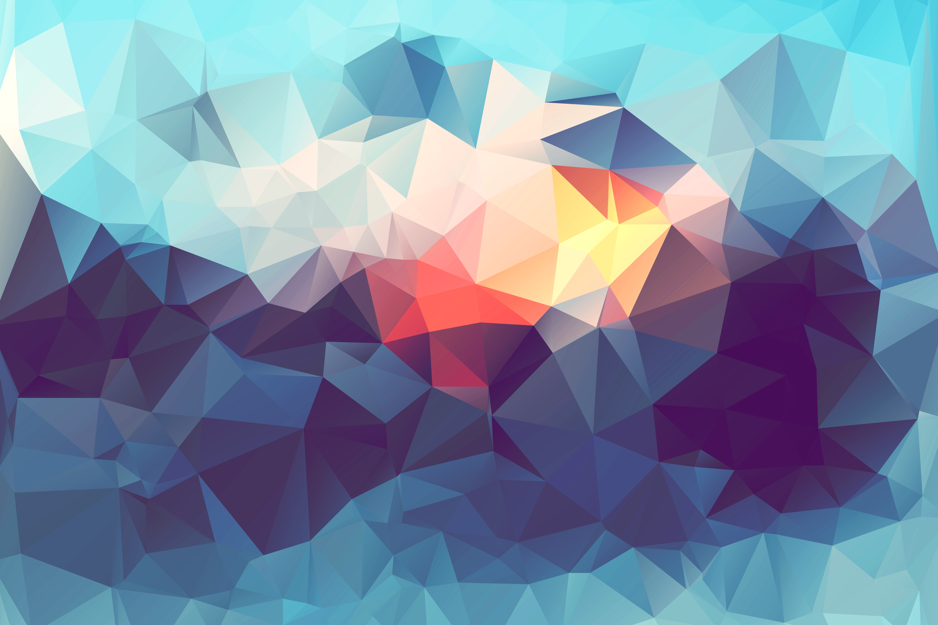 Abstract Low Poly Abstract art wallpaper, Abstract, High