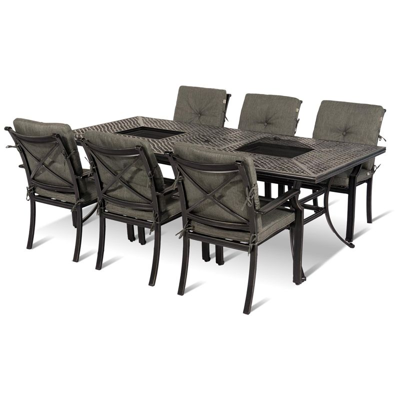 Dobbies   Garden Dining Sets with free Saturday delivery. jamie oliver garden furniture fire pit   Google Search