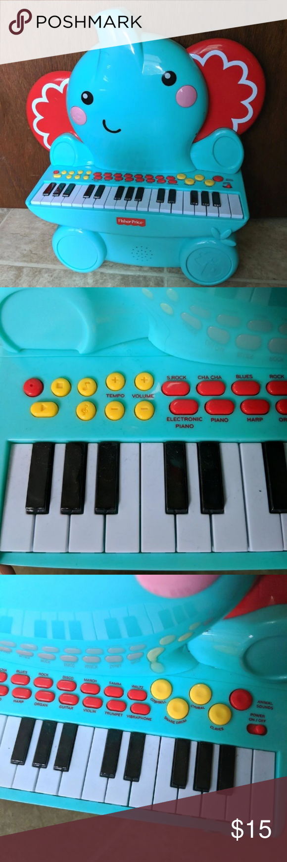 Fisher Price Keyboard Hardly ever played with, we just have something else simil...