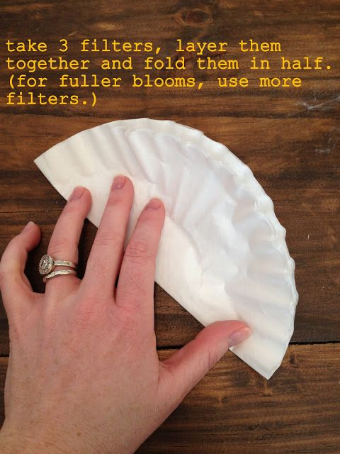 diddle dumpling: Tutorial: Coffee filter flowers | Crafts #2 ...