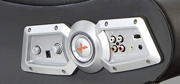 Pleasing X Rocker 5127401 Pedestal Video Gaming Chair Side Control Ibusinesslaw Wood Chair Design Ideas Ibusinesslaworg