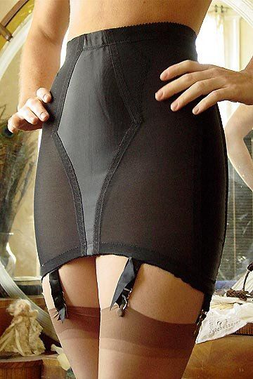 This Classic Satin Panel Girdle Was Manufactured By The Original Owners Of Rago Circa  This New Old Stock Girdle Offers Sex Appeal Shaping