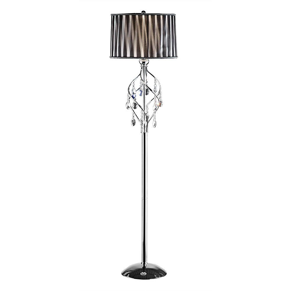 Ok 5123f 63 Inch Lady Crystal Floor Lamp Amazon Com Crystal Floor Lamp Crystal Floor Lamp