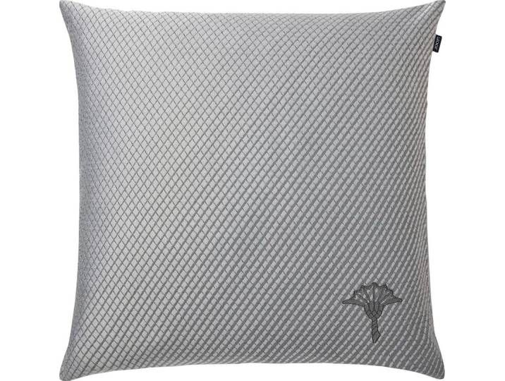 Joop Kissenhulle Diamond Mit Kornblumen Stickerei Grau Grau