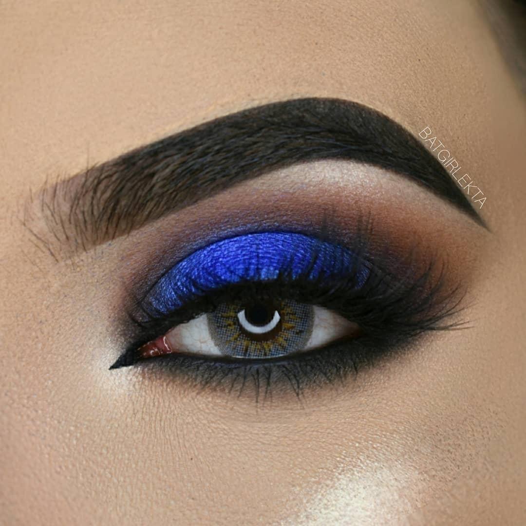 Blue SmokeyEye Makeup Tutorial -   13 makeup Ojos violeta ideas