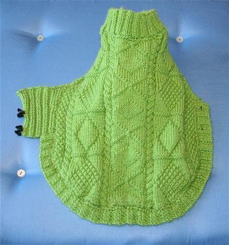 tricoter manteau pour petit chien gratuit
