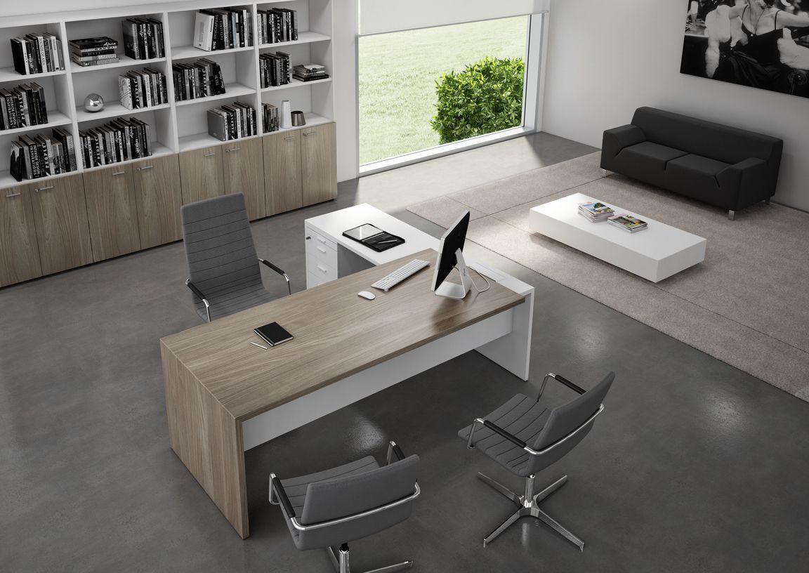 Quadrifoglio Sedie Ufficio : T office desk with shelves t collection by quadrifoglio
