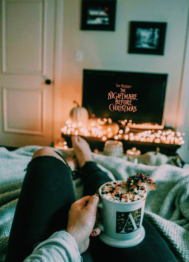Love The Winter Vibes Nightmare Before Christmas Movie Autumn Cozy Christmas Aesthetic