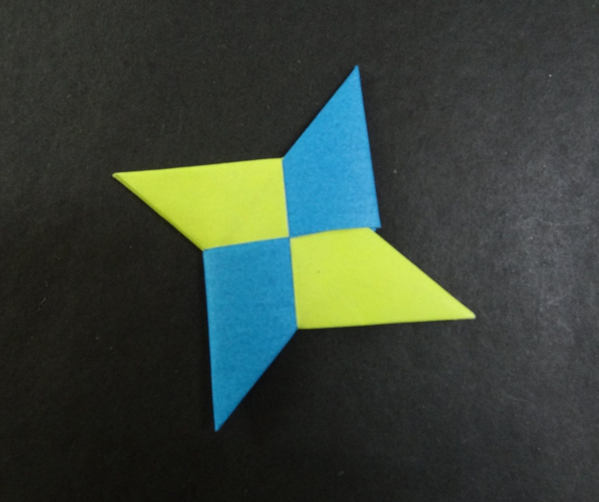 Origami Tutorial How To Fold An Ninja Star Shuriken Tutorials For Tomoko Fuse Boxes