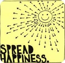 Spread happiness sunshine happy quotes words for Living in a box room in your heart lyrics