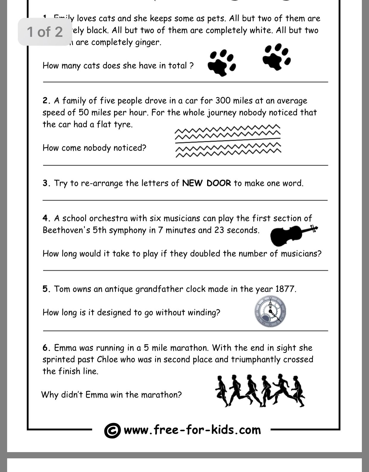 hight resolution of Pin by diane hall on Work at OVBHS   Printable brain teasers