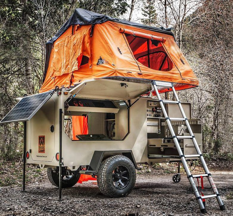 Camping Trailers: Base Camp Off-Road Trailer