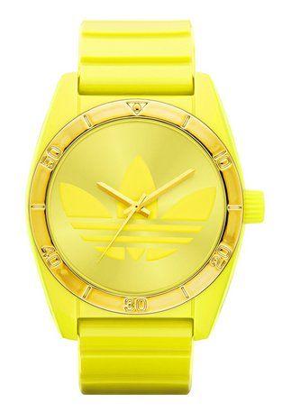 Armbanduhr, Adidas Originals, »Santiago ADH2802«. Diese modische Armbanduhr ist ein echter Blickfang an Ihrem Handgelenk.