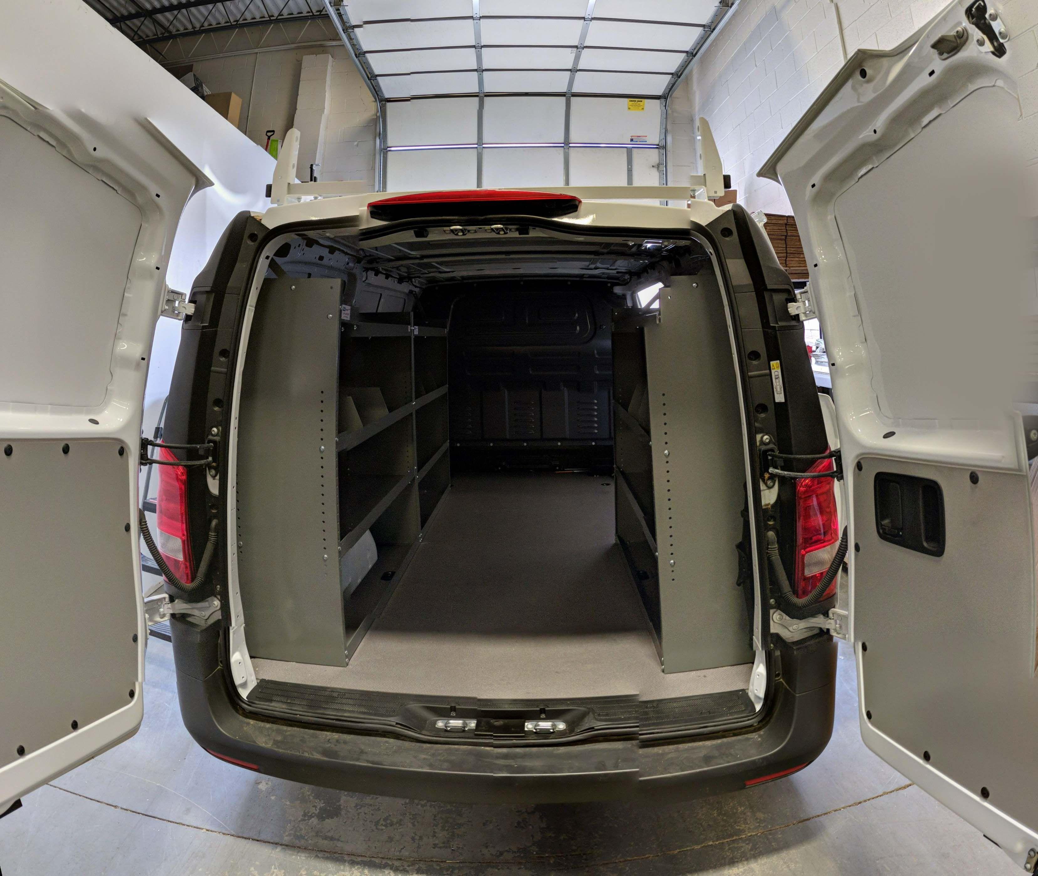 Mercedes Metris Shelving Package