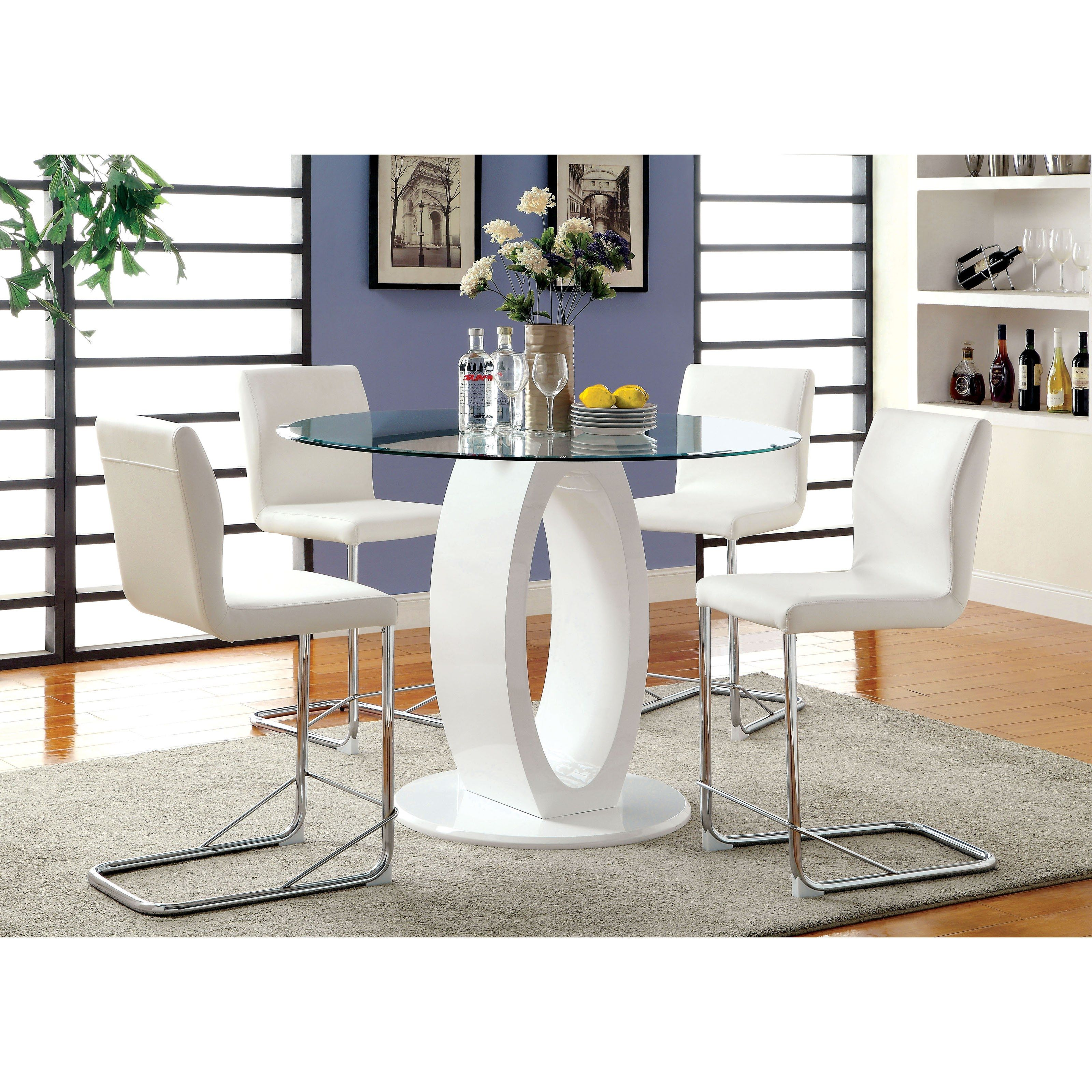 High Gloss Kitchen Table And Chairs