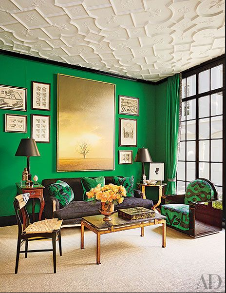 14 Jaw Dropping Green Rooms