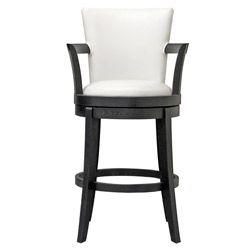 Fabulous Neptune Off White Leather Swivel Bar Stool Overstock Com Andrewgaddart Wooden Chair Designs For Living Room Andrewgaddartcom