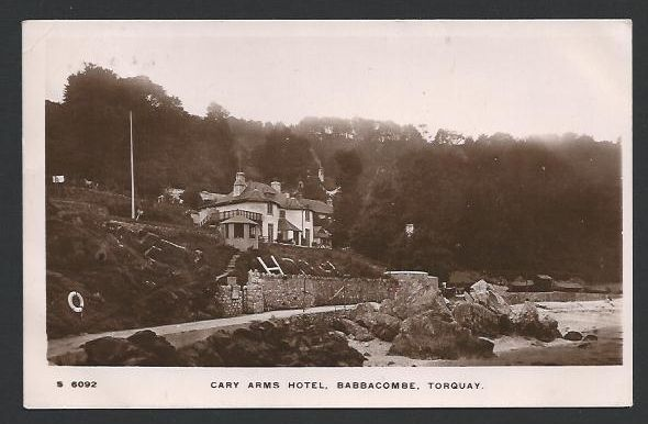 TORQUAY. Babbacombe. Cary Arms Hotel. 1915. - Click Image to Close