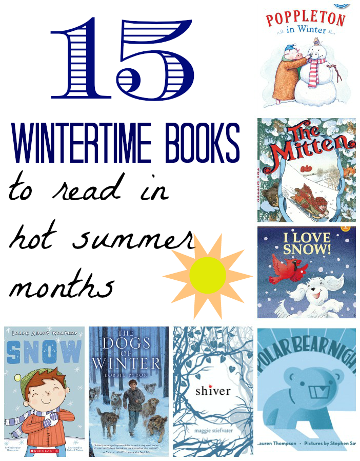 15 Cool Books to Read in the Hot Summer Months | Books | Cool books