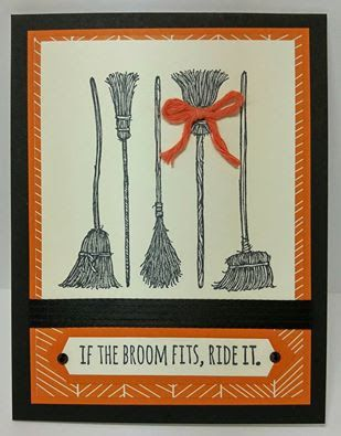 Create with Seongsook If the Broom Fits, Ride it - 2015-16 Holiday - halloween catalog