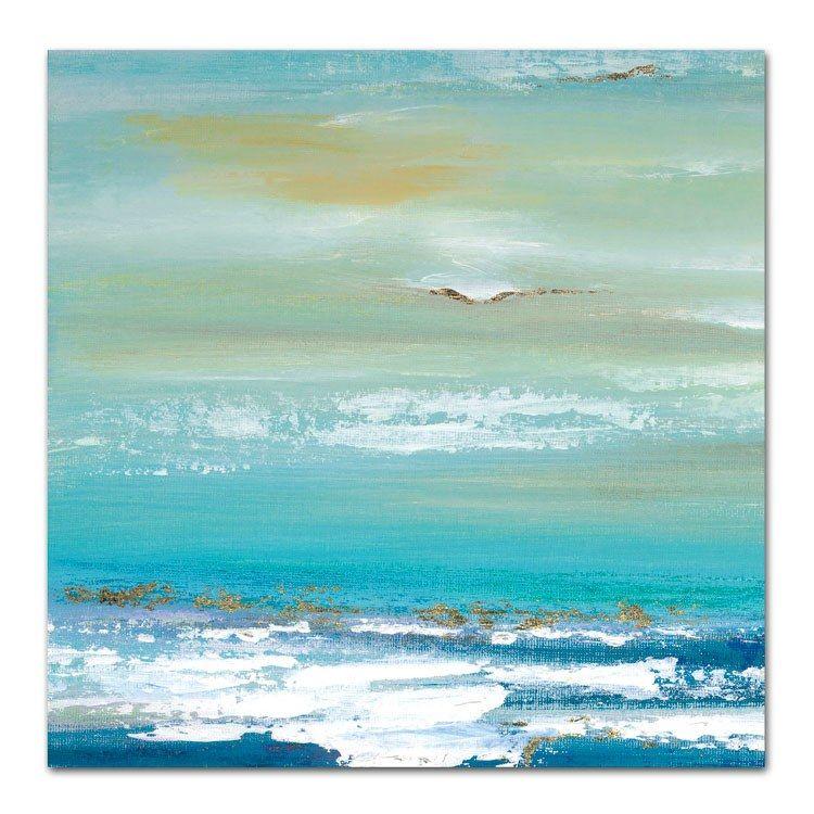 Art Wrapped Canvas Deep Blue Sea I 30 x 30 Inch