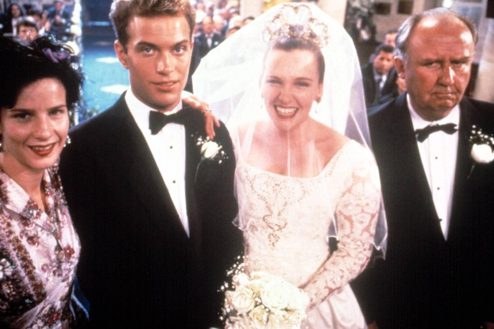 50 Iconic Onscreen Wedding Dresses Wedding movies