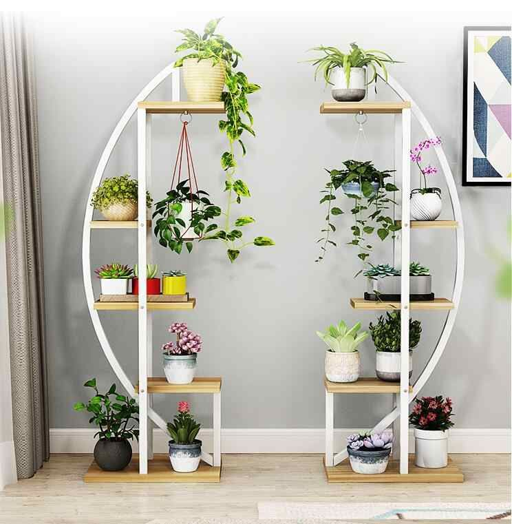Creative Flower Shelf Flower Shelf Multi Storey Indoor Iron Art