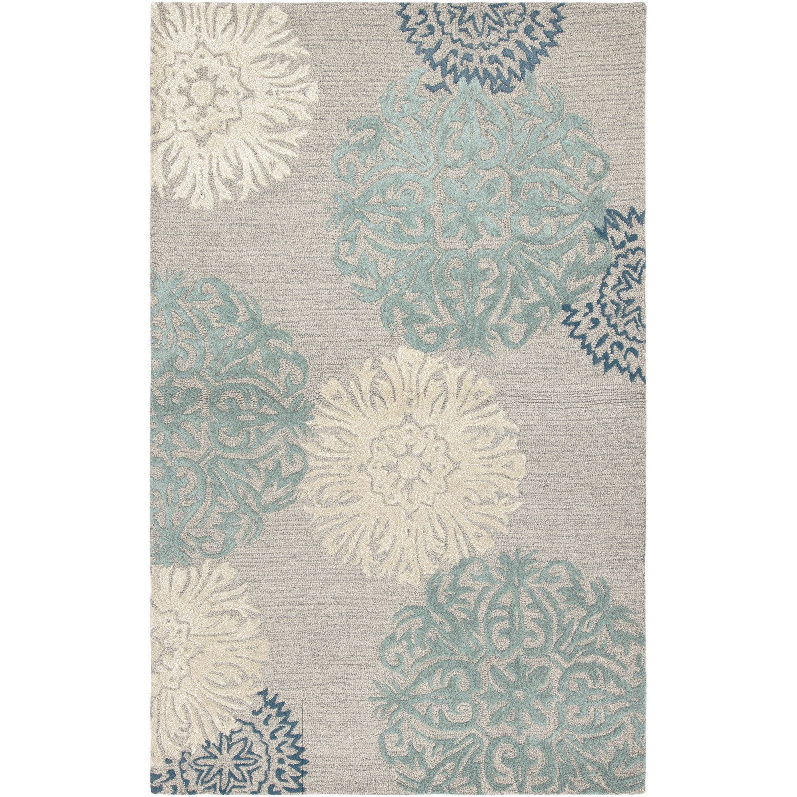 Wildon Home ® Amerique Hand-Tufted Light Gray Area Rug | Tartan ...