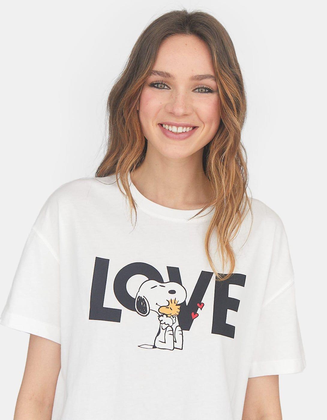 Snoopy Camiseta para Mujer
