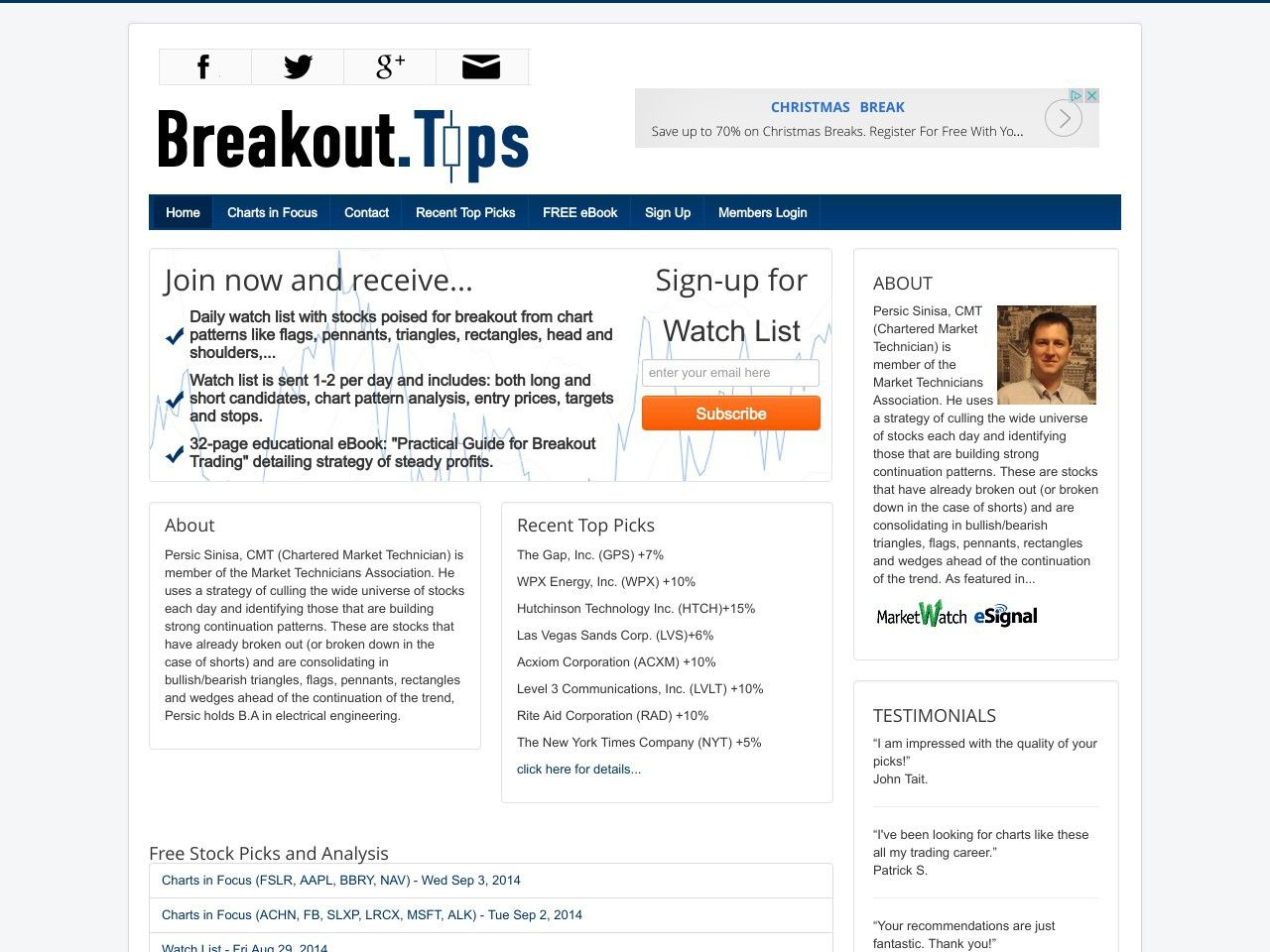 Try Breakout.tips Now- http://www.vnulab.be/lab-review/breakout-tips
