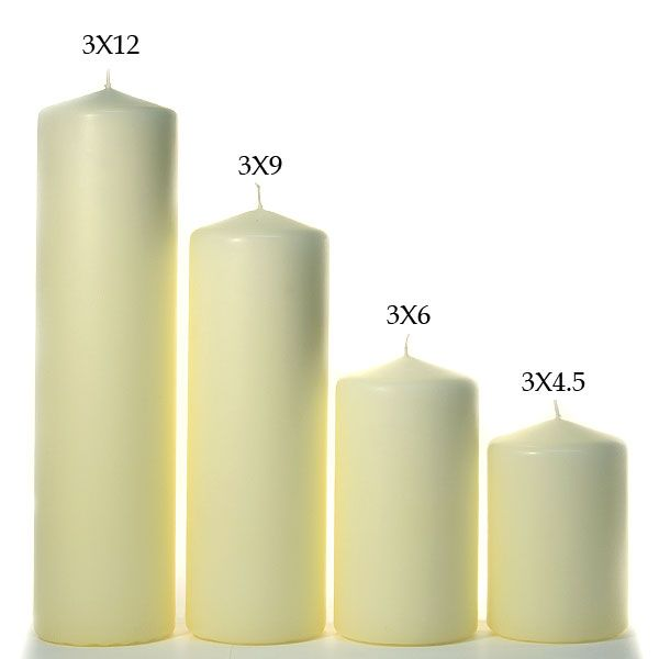 Get The Latest Pillar Candles At Wholesale Prices Shop For An Assortment Of Hand Poured 2x6 Pillar Can Pillar Candles Ivory Pillar Candles Tall Pillar Candles