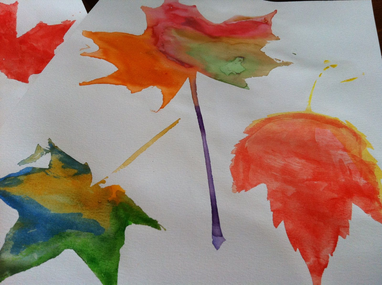 Leaf Shapes For Kids