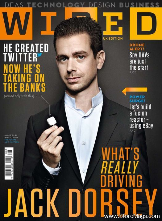 Jack Dorsey - American web developer and businessman widely known as