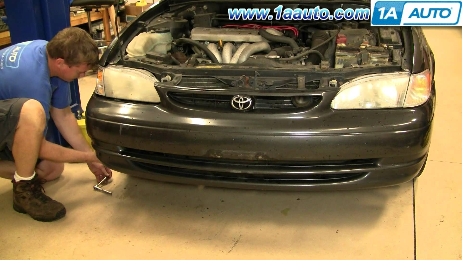 How To Install Replace Headlight And Bulb Toyota Corolla 98 02 1aauto Com Toyota Corolla Toyota Corolla