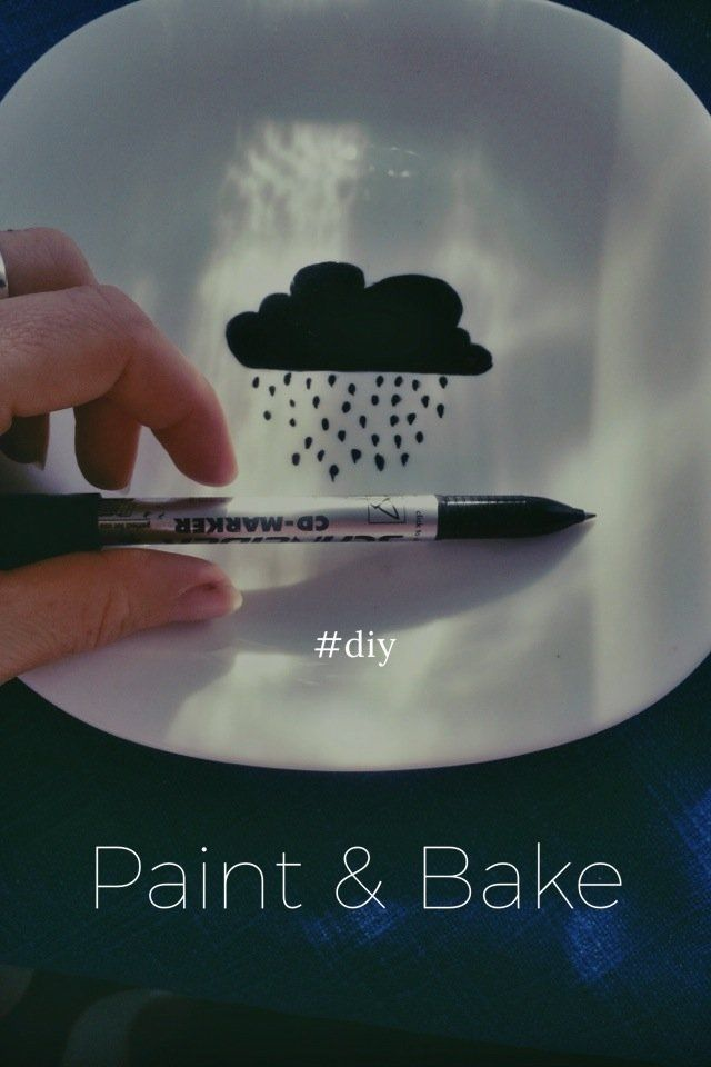 Paint Bake Diy Marker Pen Markers And Paint Pens