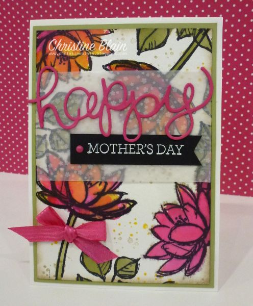 HAPPY HEART CARDS: STAMPIN' UP! REMARKABLE YOU, FOR MOTHERS' DAY