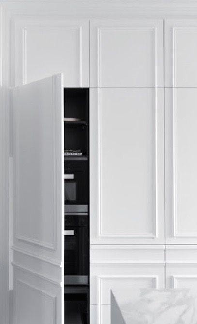 ARMADIO INGRESSO | Eleonora nel 2019 | Hidden kitchen, Home Interior ...
