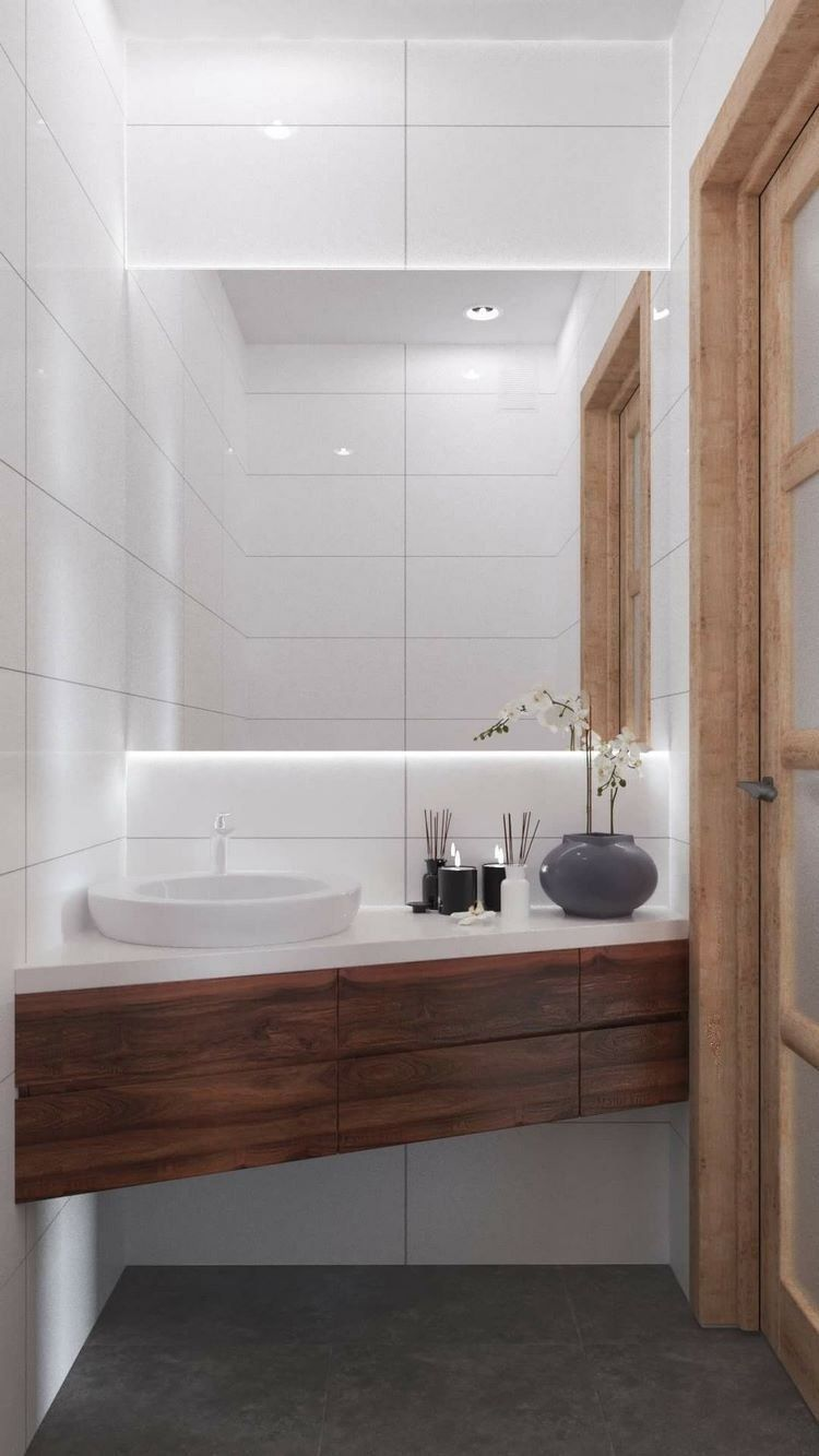 Modern guest bathroom - design ideas for practical and ...